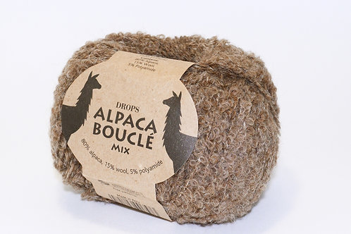 DROPS ALPACA BOUCLÉ  0602 brown