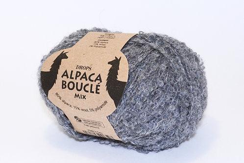 DROPS ALPACA BOUCLÉ  0517 grey