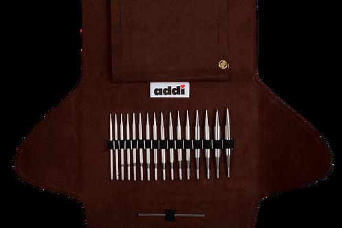 ADDICLICK SHORT LACE TIP Набор укороченных круговых спиц со сменными лесками