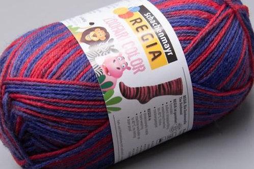 Regia 4-fädig Zoofari Color 5866 50g