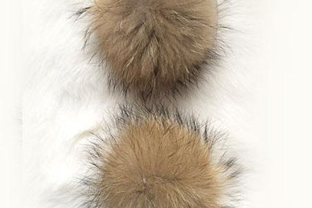 Помпон енот  16-18 см