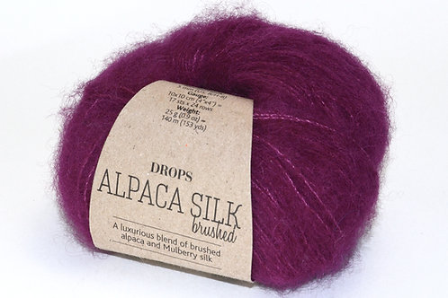 DROPS BR. ALPACA SILK 09 purple