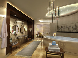 Leela Kempinski hotel spa design