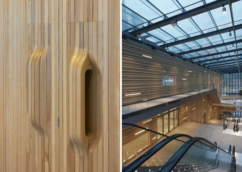 Klara congress interior design wood