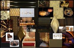 bar nightclub design concept board