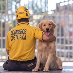 Unidad canina del Benemérito cuerpo de bomberos de Costa Rica
