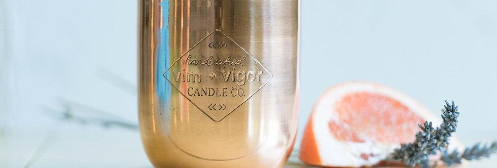 Blood Orange + Lavender Soy Candle