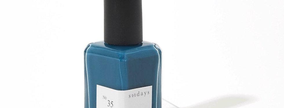 Sundays #35: Royal Blue Nail Polish
