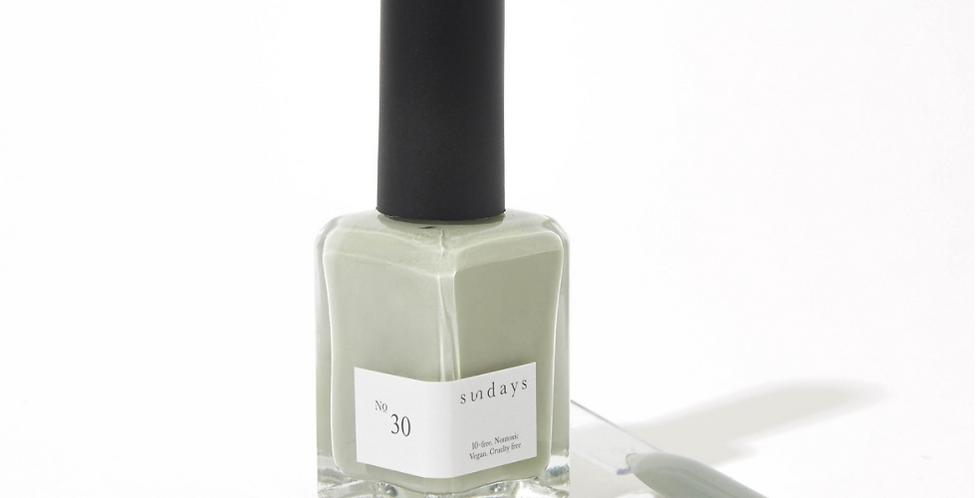 Sundays #30: Light Olive Gray Nail Polish