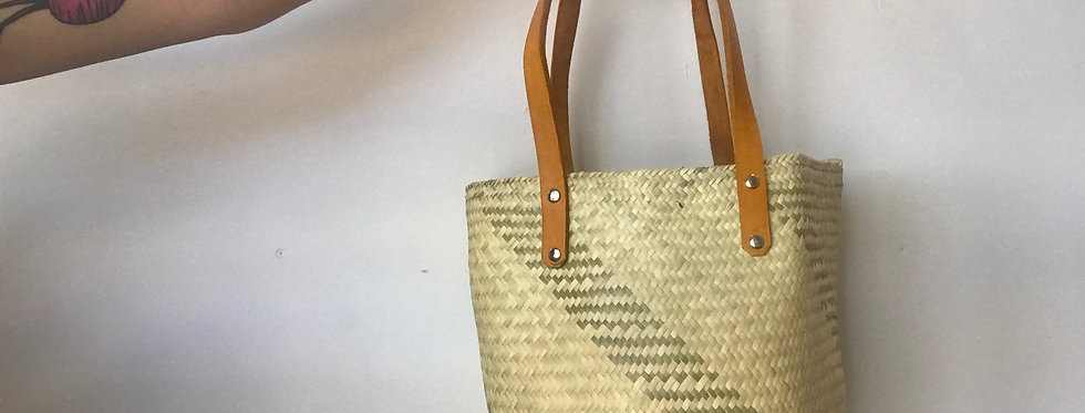 Handwoven Palm Bag