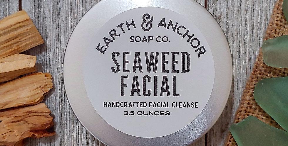 Seaweed Grapefruit Facial Bar Tin