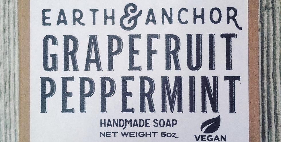 Grapefruit Peppermint Soap