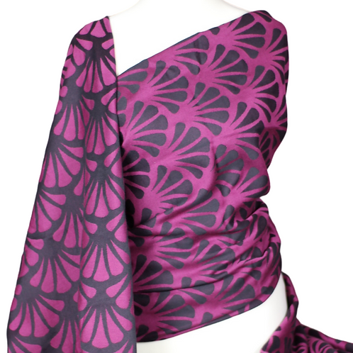 Ring Sling - 'Camino' Dark Blackberry
