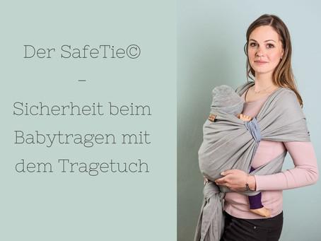 Der SafeTie - Tragen im Tragetuch so einfach und sicher wie mit einer Babytrage!