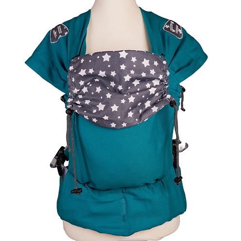 "Click.it Babysize ""Stars on a Turquoise Sky"""