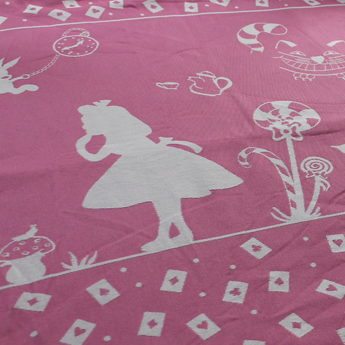 Tragetuch - 'Alice' Light Flamingo