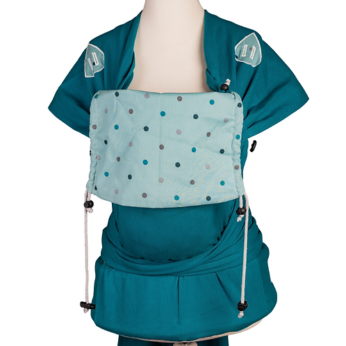 "Wrap.it Babysize Comfort ""Minty Points at Turquoise Sky"""