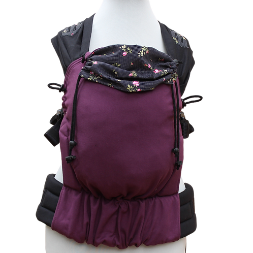 "Click.it Toddlersize ""Black Roses Burgund"""