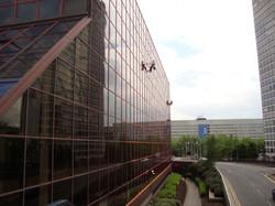 Insightuk Abseil Window Cleaning in Birmingham