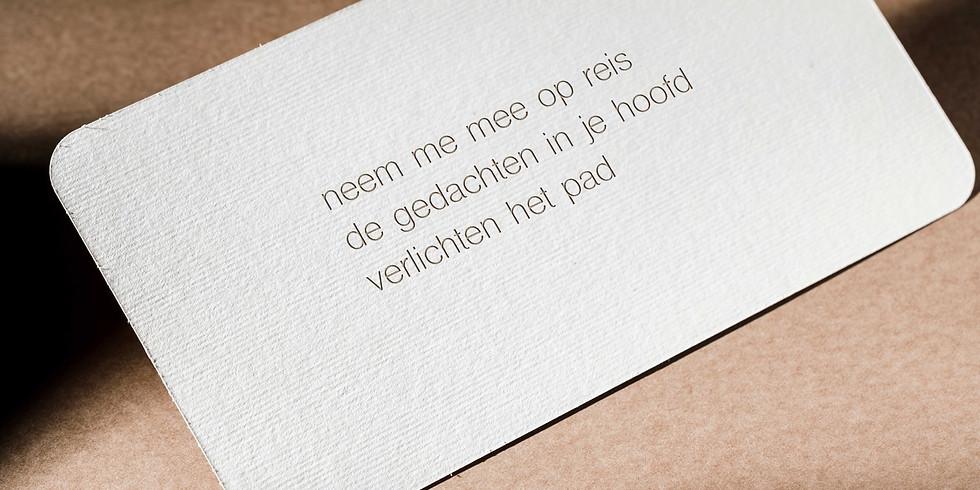 Workshop Haiku, ism Ferm.e, Laakdal