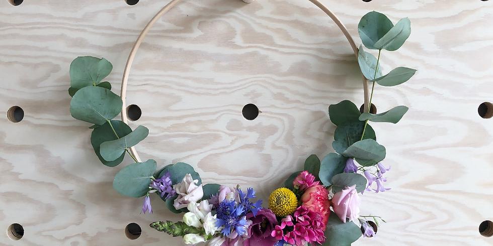 Workshop bloemenkrans