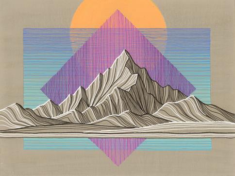 Mountain Lines III