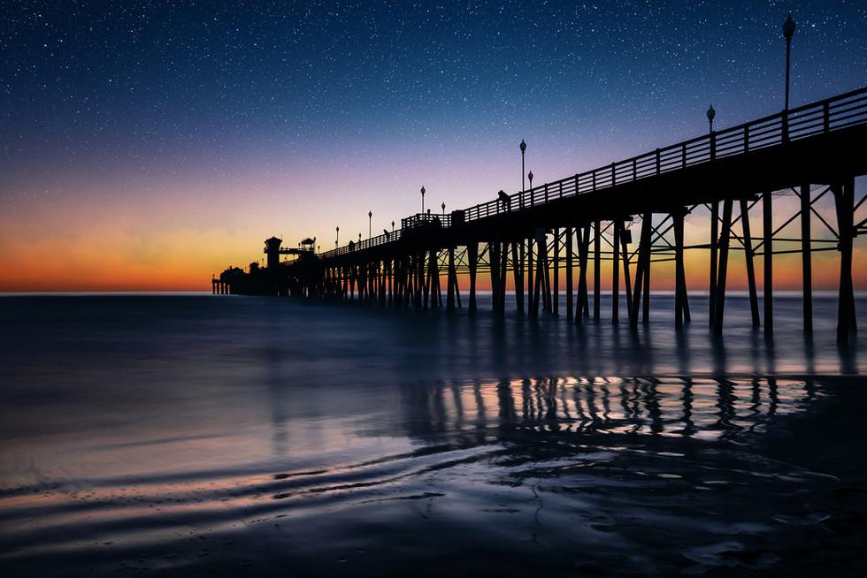 San Diego   Oceanside Pier   Stargazer
