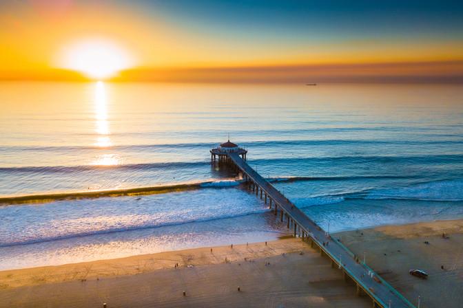 Los Angeles   Manhattan Beach Pier