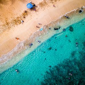 Kapalua Beach | Aerial Diagonal