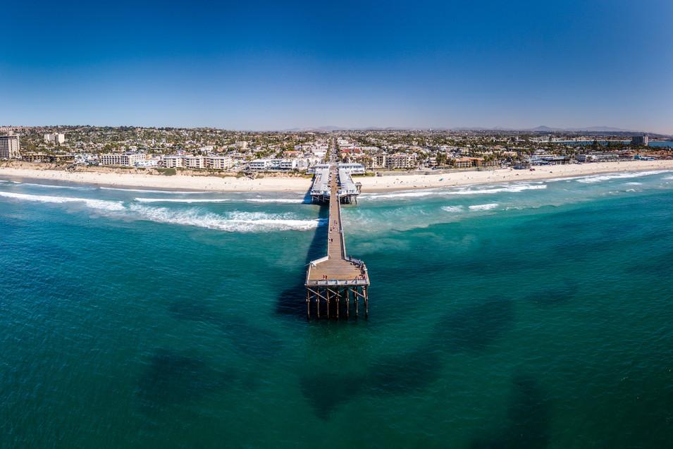 Pacific Beach Pier | Aerial