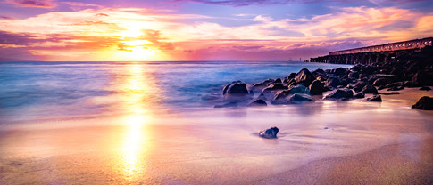 Maui   Mala Whalf   Sunset
