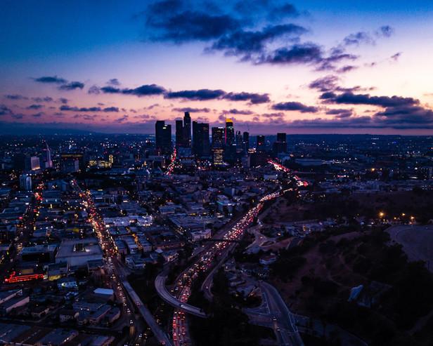 LA Downtown Magic Hour