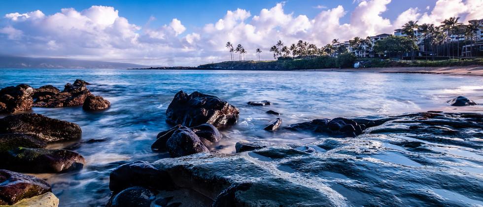 Maui   Kapalua Beach Rocks