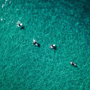 Encinitas | Moonlight Beach Surfers