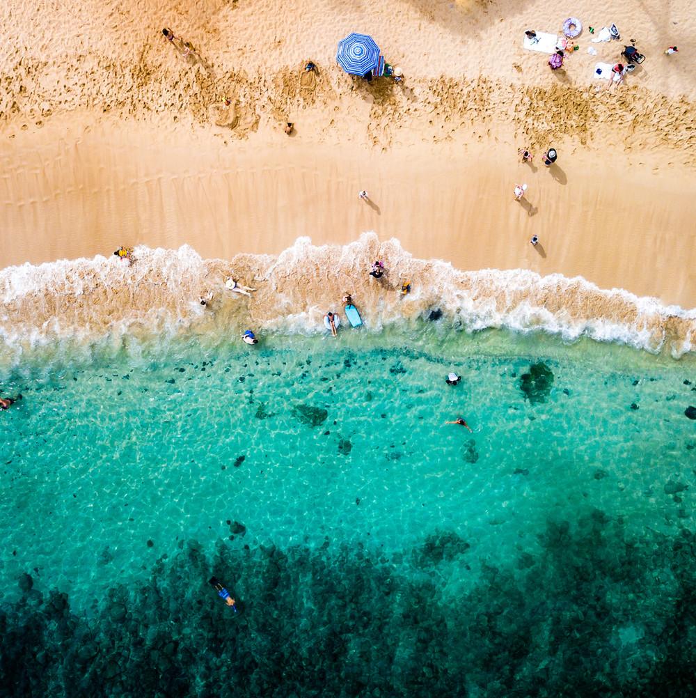 Kapalua Beach | Aerial