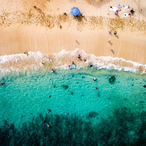 Maui   Kapalua Beach   Aerial