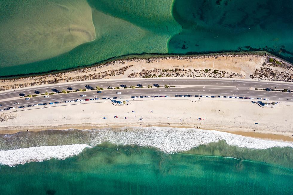 San Diego   Ocean Road