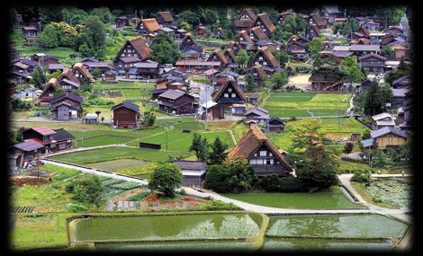 緑の宿場町