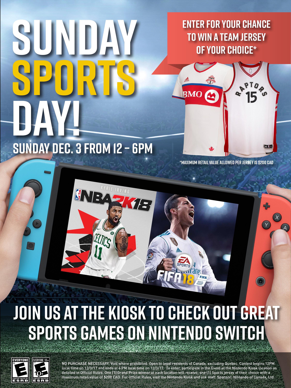 Sunday Sports Day