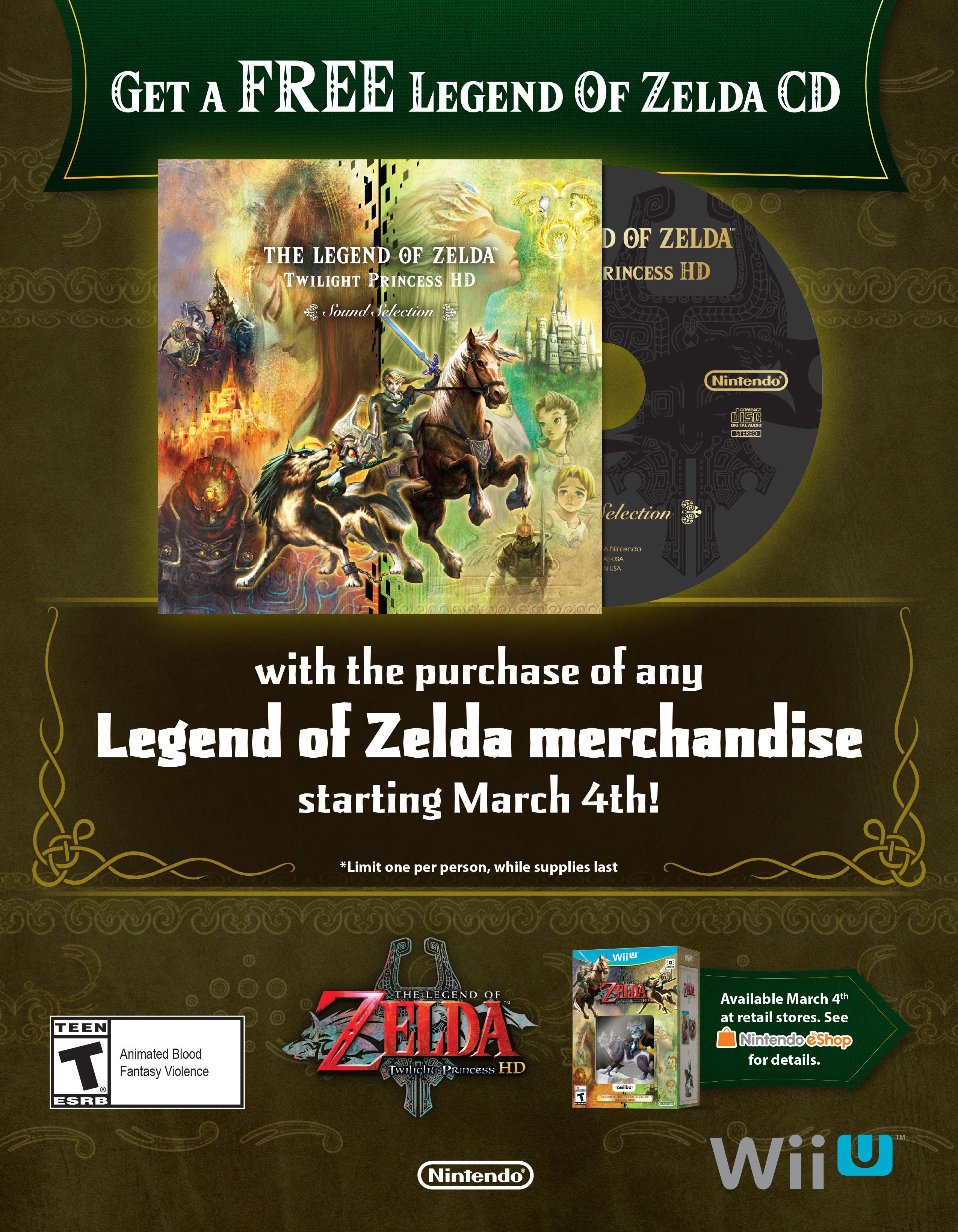 LoZ: Twilight Princess HD Giveaway
