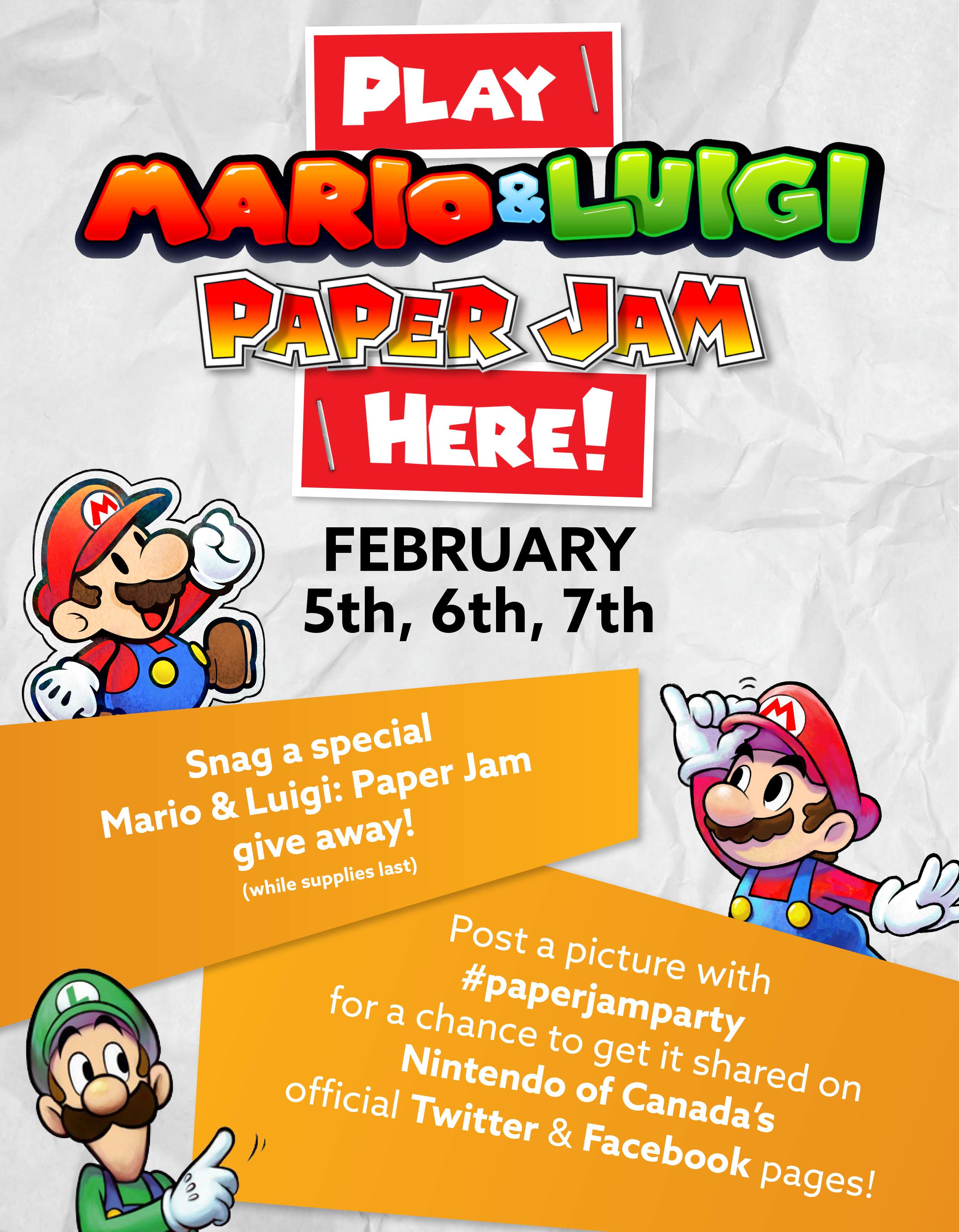Paper Mario Event