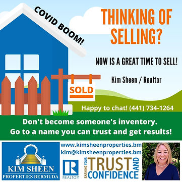 Thinking of Selling Covid Boom Kim Sheen Properties