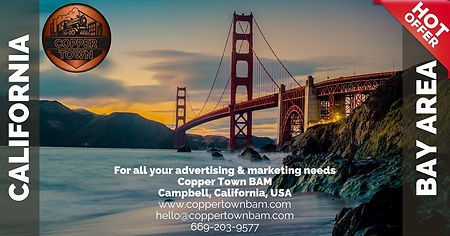 Copper Town Bay Area Advertising Marketing Free design packages social media management