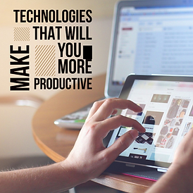 Technologies ad social media advertising marketing digital design productive hand tablet computer