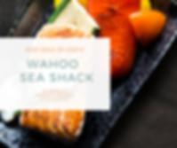 Seafood & Blue Photo Food Facebook Post.