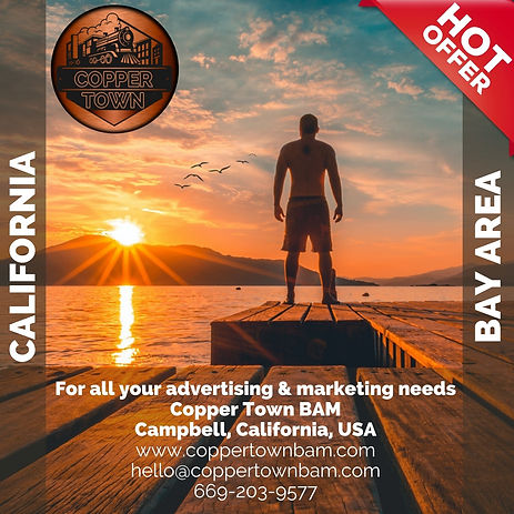 Copper Town Advertising Marketing California Hot Offer Bay Area