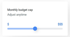 google ads monthly budget cap