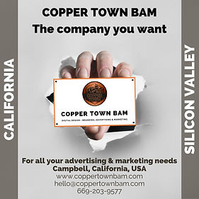 Copper Town Instagram Advert hand coming through wall