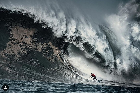 "The ""Day of Days"" surfing at Mavericks, Half Moon Bay, California December 8th, 2020"