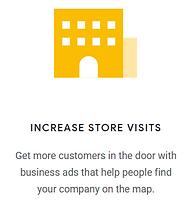 Google ads increase store visits